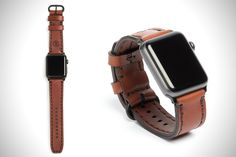 cd47c0f35 Arrow & Board Leather Apple Watch Band | HiConsumption Apple Watch Bands,  Smart Watch,