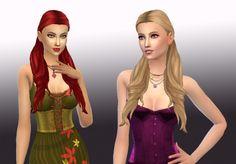 Sentimental hair by Kiara at My Stuff • Sims 4 Updates