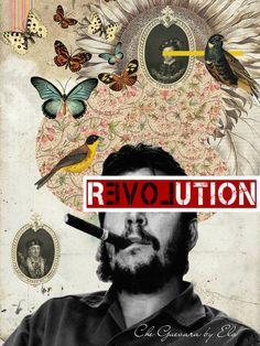"Saatchi Art Artist Elo Marc;  Novi mediji, ""Che Guevara - Javni Številke Collecton jih ELO"" #art"