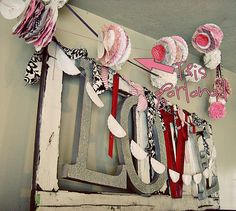 Paper Garland Tutorial using cupcake liners, coffee filters and other papers.