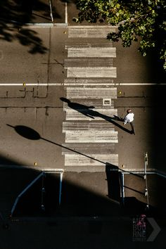 crossing shadows From Melbourne Street