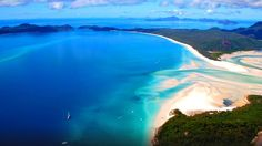 Praia de Whitehaven, Austrália -