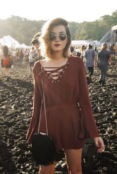 What to wear to a music festival: part one.
