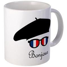 Bonjour Mugs on CafePress.com