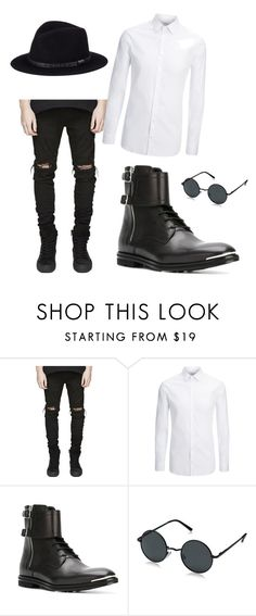 """""""party date"""" by carolinelostinneverland on Polyvore featuring Joseph, Alexander McQueen, AORON, Sunday Afternoons, men's fashion and menswear"""