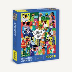 Essential Workers 1000-Piece Puzzle Job Help, Puzzle Party, Home Activities, Above And Beyond, Paint Party, Easy Gifts, Essentials, 1000 Piece Jigsaw Puzzles, Finding Yourself