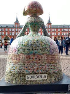 #MeninasMadrid Diego Velazquez, Arte Country, Skyline, Southern Europe, Spain Travel, Public Art, Mosaic Art, Installation Art, Art School