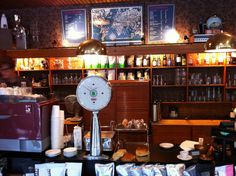 Fuglen Cafe in Oslo, Norway
