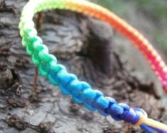 Dreadlock Beads, Dread Beads, Macrame Cord, Macrame Bracelets, Dreadlock Accessories, Rainbow Fruit, Hemp Jewelry, Affordable Jewelry, Love Crochet