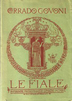 Adolfo De Carolis for Corrado Govoni's first collection of poems. Firenze, 1903