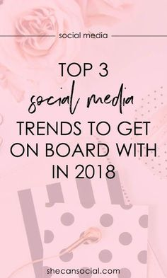 Are you keeping up with the changes in social media marketing? Here are the newest social media marketing trends that you need to get on board with and start using immediately!