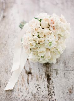 the palest blush & creamy whites ...like a whisper #wedding #bouquet