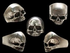Awesome skull rings