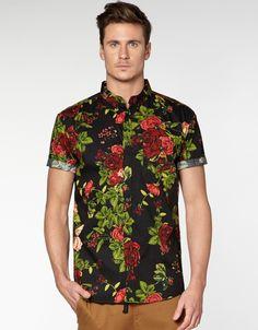34d57e80f41d Hallenstein floral shirt Abiti Su Misura