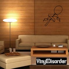 Badminton Shuttle Cock Wall Decal - Vinyl Decal - Car Decal - CDS004