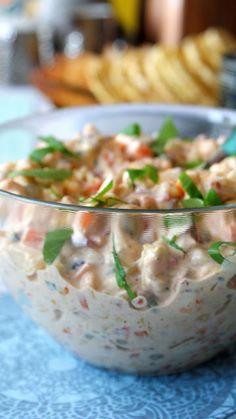 Z Kuchni Do Kuchni: Najlepsza sałatka na imprezę Potato Salad, Grilling, Food And Drink, Gluten Free, Tasty, Meals, Ethnic Recipes, Cooking, Impreza