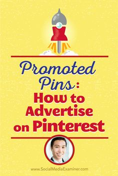 Vincent Ng talks with Michael Stelzner about how to advertise on Pinterest with…