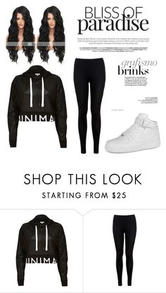"""""""Untitled #5"""" by beautifulaestheically ❤ liked on Polyvore featuring River Island, Miss Selfridge and NIKE"""