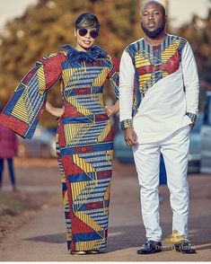 African fashion clothing looks Ideas 4061968937 African Fashion Designers, Latest African Fashion Dresses, African Print Fashion, Africa Fashion, African Prints, African Fashion For Men, Couples African Outfits, African Attire, African Wear