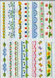 floral borders  Gallery.ru / Фото #1 - 1 - Auroraten