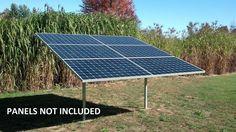 Ground Mount Solar Panel Racking Kit 6 Panel Kit   eBay