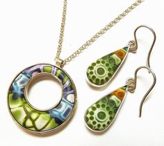 necklace and earrings by Rebecca Geoffrey, via Flickr