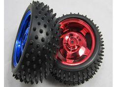 85mm car wheel from http://www.smartarduino.com/rc-car-wheel-85mm-width-31mm-robot-accessory-tire-tyre-car_p94212.html