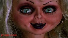 GIPHY is your top source for the best & newest GIFs & Animated Stickers online. Find everything from funny GIFs, reaction GIFs, unique GIFs and more. Halloween Horror, Halloween Makeup, Halloween Costumes, Halloween 2017, Halloween Ideas, Horror Movie Characters, Horror Movies, Tiffany Bride Of Chucky, Child's Play Movie