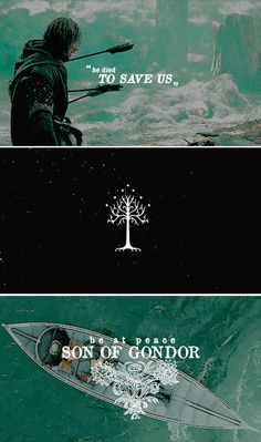 be at peace son of gondor #lotr