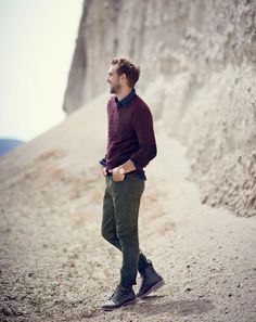 Total well dressed. Men's Fashion Sweater