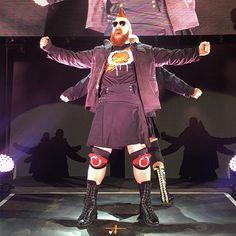 wwe @wwesheamus & @wwecesaro finish up the last day of the European tour at #WWERotterdam. Rotterdam, Netherlands 2017/05/14 04:38:37