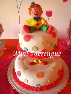 Clown cake - Torta payasito