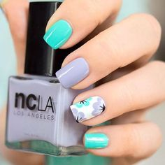 40 Fresh Spring Nail Art Ideas to Inspire YouBeautiful Spring Nail Art Designs Trends Everyone needs to appear their best now of the year, They're some nice spring nail concept can leave you feeling prepared for any price.Spring nails are that final Cute Spring Nails, Spring Nail Colors, Spring Nail Art, Nail Designs Spring, Summer Nails, Nail Art Designs, Nails Design, Nail Art Diy, Diy Nails
