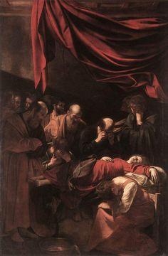 Caravaggio, the death of the virgin
