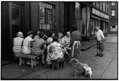 Grand Street, Brooklyn, NYC, 1947 by Henri Cartier-Bresson