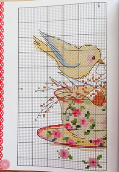 Cross Stitch Thread, Cross Stitch Love, Cross Stitch Animals, Cross Stitch Charts, Cross Stitching, Cross Stitch Embroidery, Embroidery Patterns, Cross Stitch Patterns, Cross Stitch Kitchen