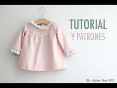 Costura: Vestido para niñas (patrones gratis talla hasta 8 años)   Manualidades