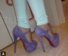 Purple Rain Shoes