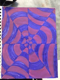 Optical Illusion. Markers. Create Image, Optical Illusions, Markers, Quilts, Contemporary, Blanket, Rugs, Projects, Home Decor
