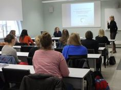 Wendy Leeds-Hurwitz, Director of the Center for Intercultural Dialogue, gave a talk on intercultural communication at the University of Helsinki in April 2013