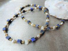 Bead Jewelry, Beaded Bracelets, Etsy, Fashion, Necklaces, Stocking Stuffers, Schmuck, Beaded Jewelry, Moda