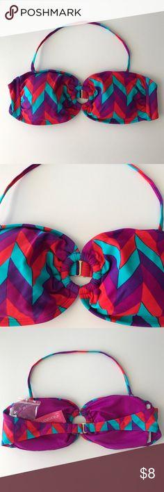 Xhilaration Swim Top Brand new with tags. Xhilaration Swim Bikinis