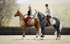 sim horses