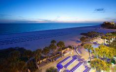 Beachside Dusk at TradeWinds resort in St. Pete Beach, FL | Bluegreen Vacations | Bluegreen Resorts #BluegreenVacations #BluegreenResorts