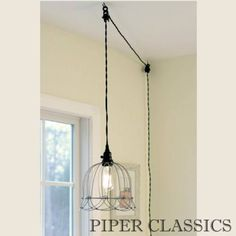 Unique Chandelier PLUG IN Modern Hanging Pendant Lamp Industrial