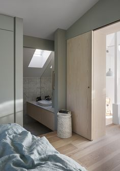 #F015 is a minimal interior located in Stockholm, Sweden, designed by Förstberg Ling.