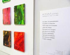 Art notebooks Exhibition. Kinmcuadernos notebooks on art exhibition until 31 may (Madrid, Spain)