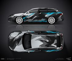 Design consept #4 Back Ice Camo for Audi RS6 Avant for sale