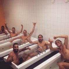 """Victory & Vacation!! ✌️"" – Swedish team, June 2015"