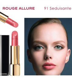 Chanel 91 lipstick. Great for the light Spring woman